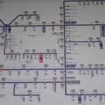 箸尾駅近鉄路線図