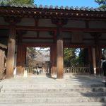 世界遺産唐招提寺正門(周辺)