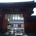 世界遺産薬師寺正門(周辺)